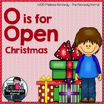 Christmas - Letter O is for Open