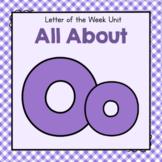 Letter O- Preschool Letter of the Week Unit