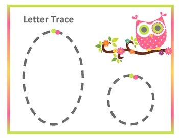 Letter O ~ Preschool Unit