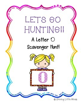 Letter O Scavenger Hunt