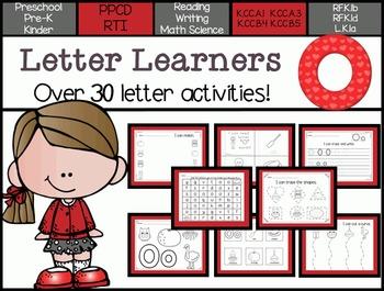 Letter Learners: Letter O