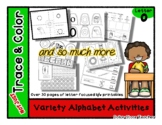 Letter O - Variety Alphabet Activities - Not Just Trace &