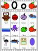 Letter O Vocabulary Cards