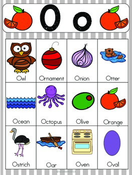 two letter words with o letter o vocabulary cards by the tutu teachers 25350 | original 2155418 2