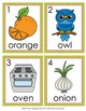 Letter O Words Write the Room Activity