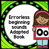 Letter O adapted book errorless learning