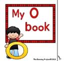 Letter O adapted book for Early Childhood, Autism and Spec