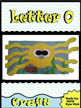 Letter O craft