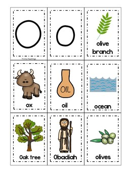 Letter O is for olive branch. Bible Letter of the Week.