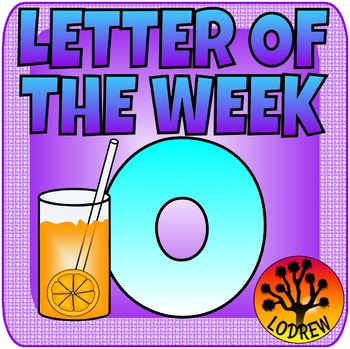 Letter Of The Week, Letter O, Alphabet Centers, Literacy, Math