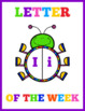 Letter Of The Week Posters Instant Download PDF; Preschool, Kindergarten, School