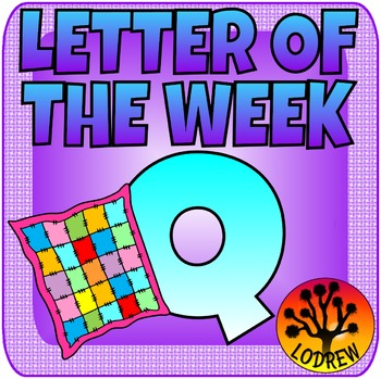 Letter Of The Week, Letter Q, Alphabet Centers, Literacy, Math