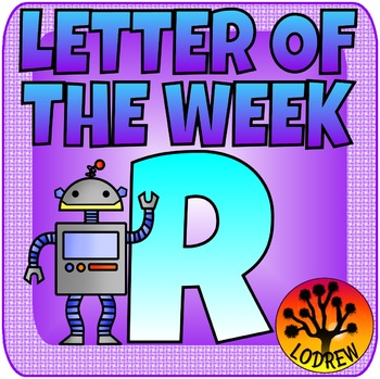 Letter Of The Week, Letter R, Alphabet Centers, Literacy, Math