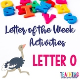 Letter Oo Activity Pack
