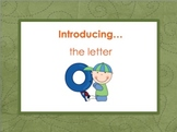 Letter Oo - Alphabet Lesson – Power Point – Interactive – Teaching the Letter O