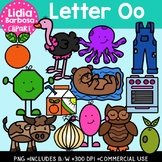 Letter Oo Digital Clipart
