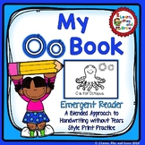 Letter Oo Emergent Reader for Letter Recognition, Phonics and Rhyming