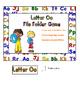 Letter Oo File Folder Game