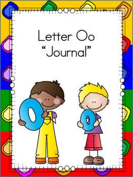 Letter Oo Journal