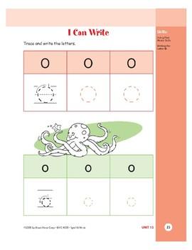 Letter Oo (Octopus)