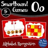 Letter Oo Smartboard Games (5 mini games) (Smartboard/Promethean Board)