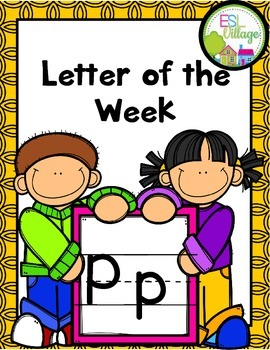 "Letter of the Week (Letter ""P"")"