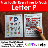 Letter P | Alphabet Printables and Centers