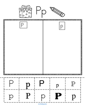 Alphabet P Letter of the Week Phonics Recognition, Sound, Tracing & Craftivities