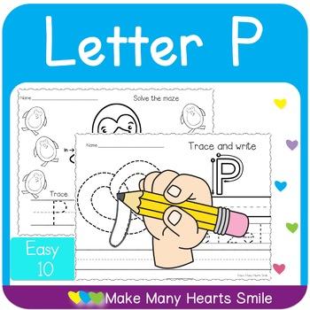 Easy 10: Letter P