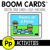 Letter P Activities BOOM CARDS™