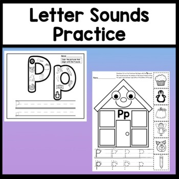 Letter P Activities {Letter P Book and 5 Letter P Worksheets!}