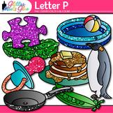 Letter P Alphabet Clip Art {Teach Phonics, Recognition, an