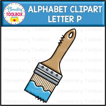 Letter P Alphabet Clipart  (Beginning Sounds)