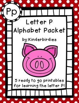 Letter P Alphabet Packet