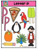Letter P Alphabet Pictures {P4 Clips Trioriginals Digital Clip Art}
