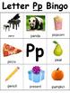 Letter P Bingo
