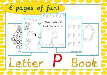 Letter P Book