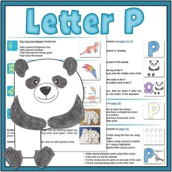 Letter P Bundle: 1 Week Of Complete Curriculum Lessons