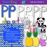 Letter P Clip Art Pack
