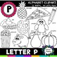 Letter P Clipart - 20 images! Personal or Commercial use