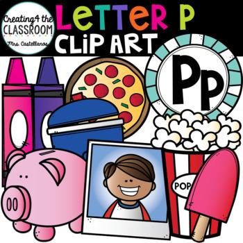 Letter P Clipart {Alphabet Clip art}