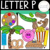 Letter P Clipart Pack