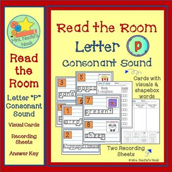 Read the Room Letter P