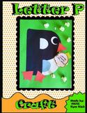 Letter P Craft