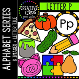 Letter P {Creative Clips Digital Clipart}