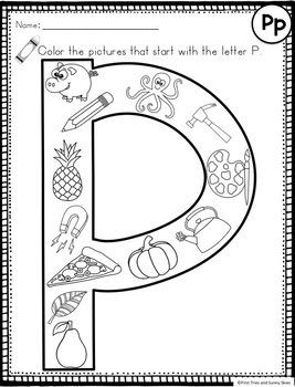 Letter P - Letter of the Week P - Letter of the Day P