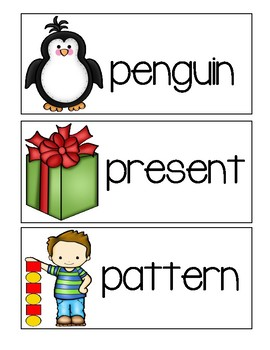 Letter P - Picture Word Cards
