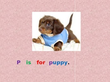 Letter P PowerPoint