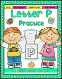 Letter P Practice Printables