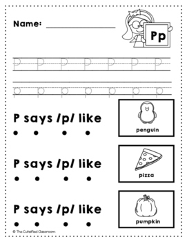 Letter P Review